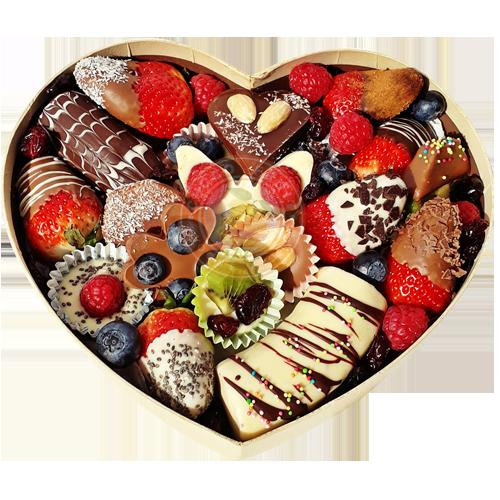 ovocná bonboniéra